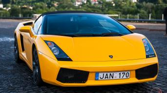 Lamborghini Gallardo/Vytauto Pilkausko nuotrauka