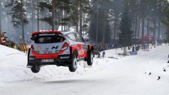 Švedijos ralis/Hyundai Motorsport nuotrauka