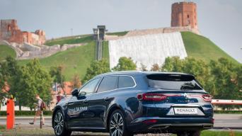 Renault Talisman Grandtour/Vytauto Pilkausko nuotrauka