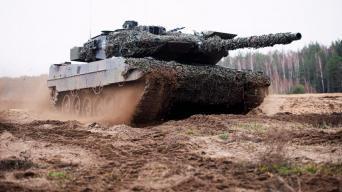 Leopard 2A6 tankas/Ryčio Šeškaičio nuotrauka