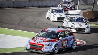 TCR serijos lenktynės/Francois Flamand nuotrauka