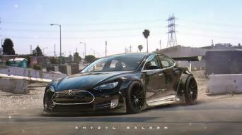 Tesla Model S/Khyzyl Saleem nuotrauka