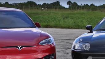Tesla vs Supra