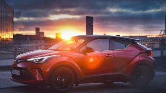 Toyota C-HR Hybrid/Vytauto Pilkausko nuotrauka
