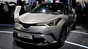 Toyota C-HR/Vytauto Pilkausko nuotrauka