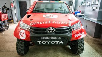 Toyota Hilux/Ryčio Šeškaičio nuotrauka