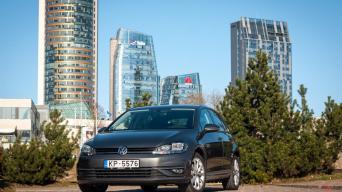 Atnaujintas septintos kartos VW Golf/Vytauto Pilkausko nuotrauka