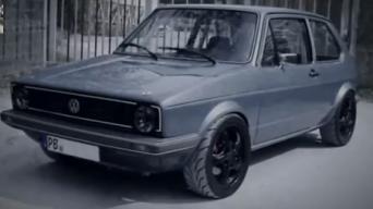 VW Golf Mk1 2.0 16V Turbo