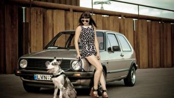 Eglė ir VW Golf Mk2/GertyPhoto nuotrauka