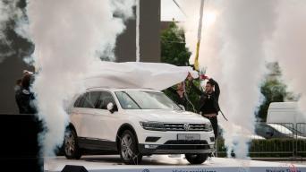 VW Tiguan/Vytauto Pilkausko nuotrauka
