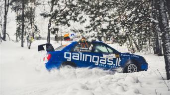 Winter Rally/Vytauto Pilkausko nuotrauka