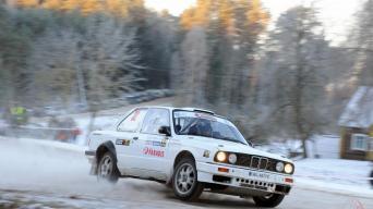 Halls Winter Rally/Vytauto Pilkausko nuotrauka