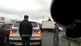 Žmogus – automobilis Rusijoje