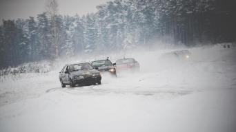 Slalomas žiemą