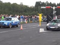 Audi S2 Avant vs Porsche 997