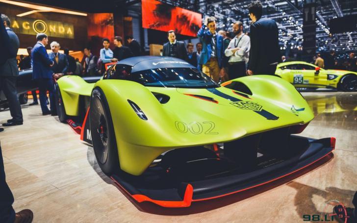 Aston Martin Valkyrie AMR Pro/Vytauto Pilkausko nuotrauka