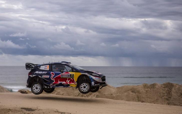 Australijos ralis 2017/Jaanus Ree - Red Bull Pool Content nuotrauka