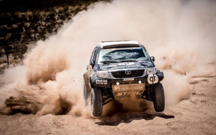 Benedikto Vanago Toyota Hilux/Marian Chytka nuotrauka