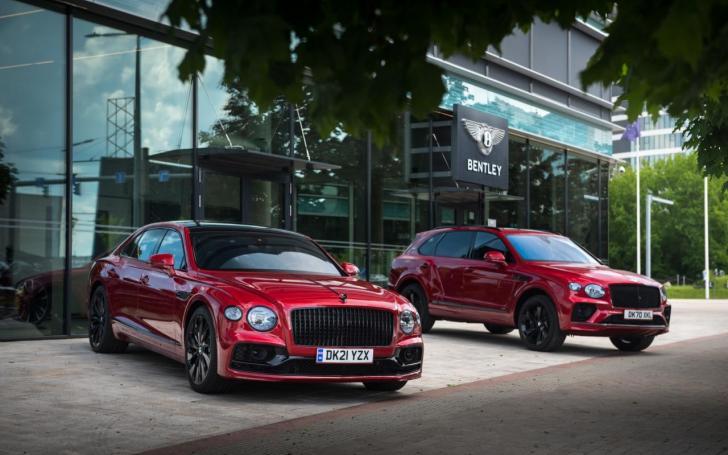 Bentley Flying Spur ir Bentayga