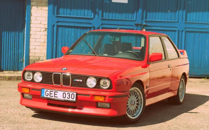 BMW M3 E30/Vytauto Pilkausko nuotrauka