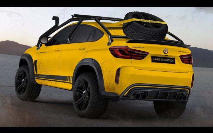 BMW X6 M Dirt Manhart