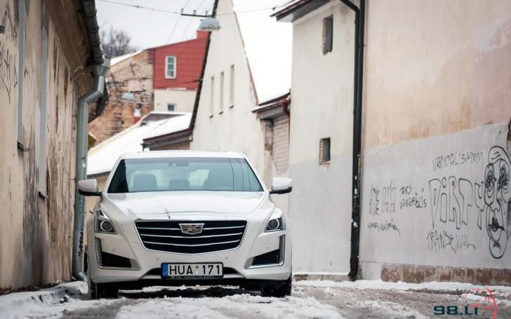 Cadillac CTS4/Vytauto Pilkausko nuotrauka