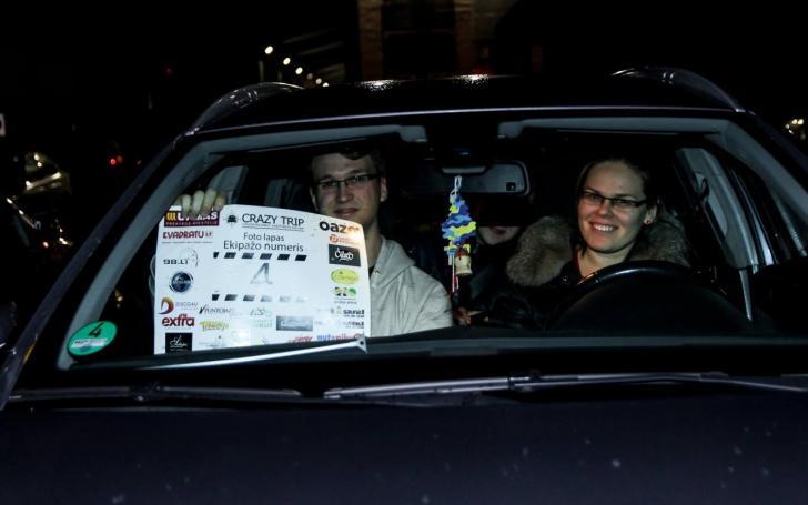 Automobilių orientacinės varžybos Crazy Trip/Artūro Grabusovo nuotrauka