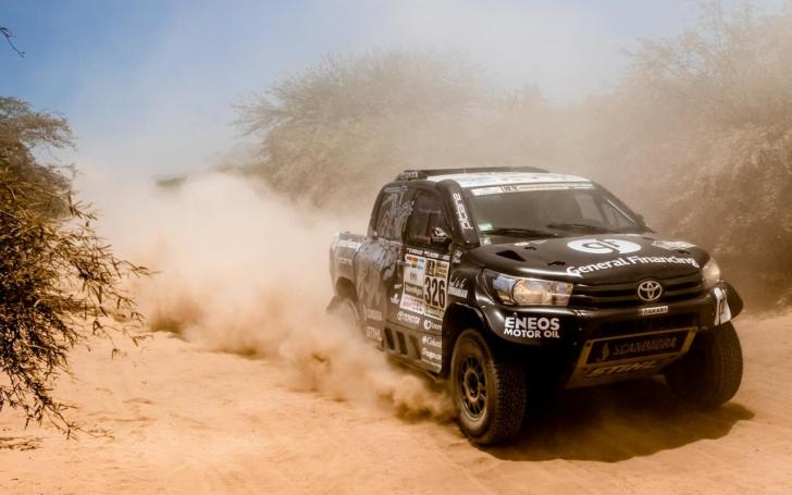 Dakaro ralis 2017/Marian Chytka