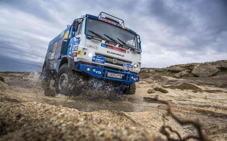 Dakaro ralis/Andrey Pronin-Red Bull Content Pool nuotrauka