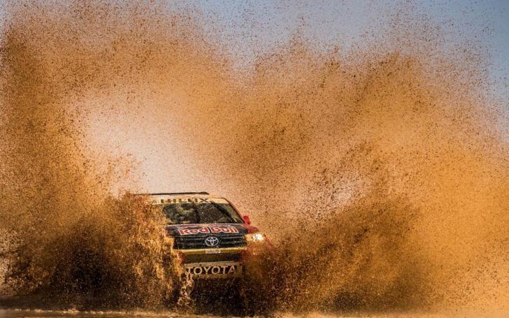 Dakaro ralis/Kin Marcin-Red Bull Content Pool nuotrauka