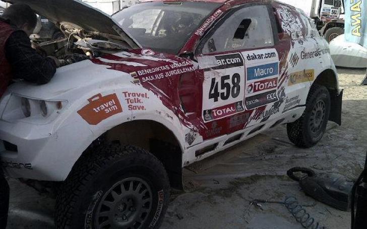 Dakaro ralis 2013: dešimtas etapas