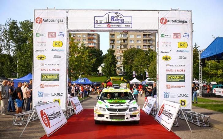 Rally Elektrėnai/Egidijaus Babelio nuotrauka