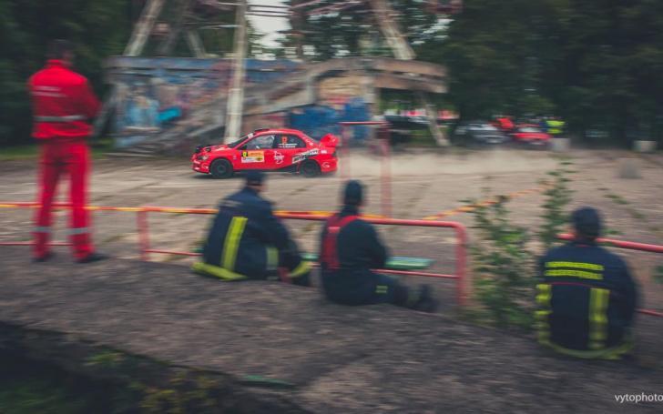 Elektrėnų ralis/V P Motors nuotrauka