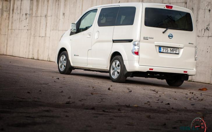 Nissan e-NV200 Evalia/Vytauto Pilkausko nuotrauka
