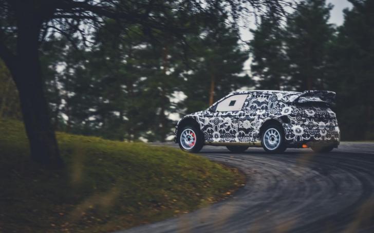ESmotorsport-BRGroup komandos testai/Vytauto Pilkausko nuotrauka