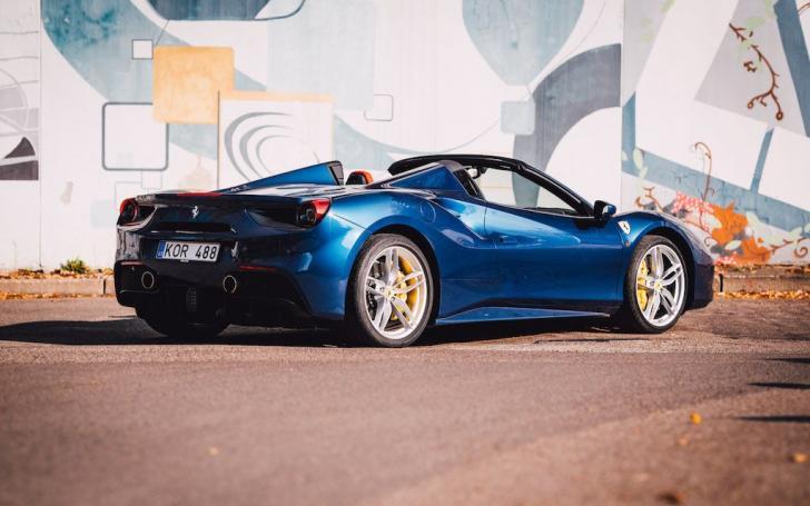 Ferrari 488 Spider/Ryčio Šeškaičio nuotrauka