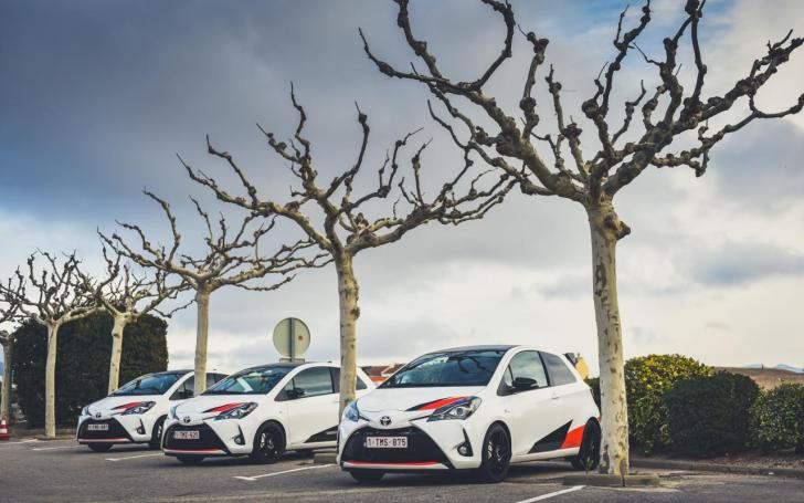 Toyota Yaris GRMN/Vytauto Pilkausko nuotrauka
