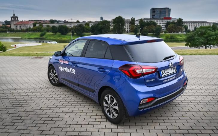 Atnaujintas Hyundai i20