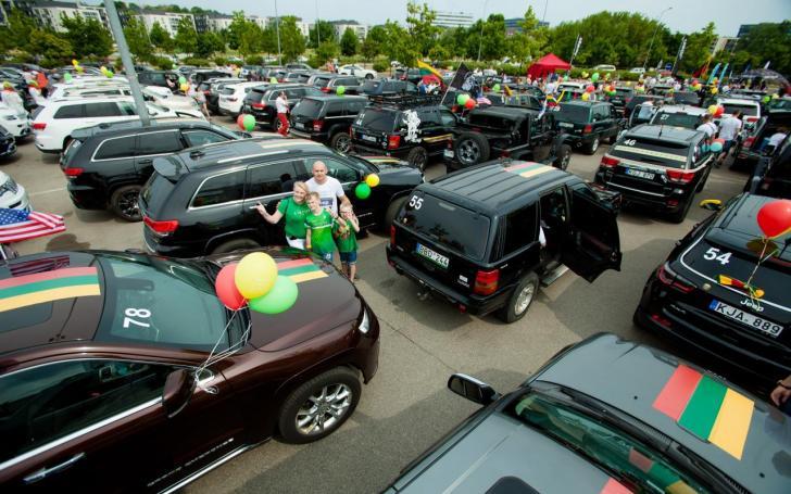 Jeep rekordas/Organizatorių nuotrauka