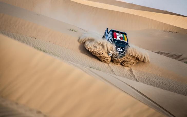 Dubai International Baja 2019/Jiri Šimeček nuotrauka