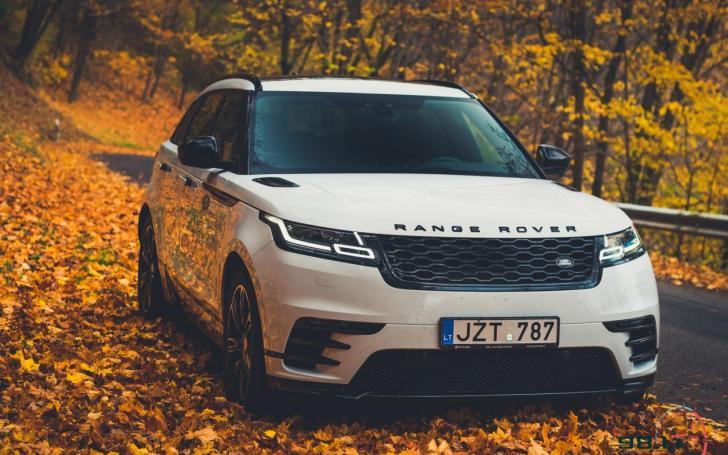 Range Rover Velar/Vytauto Pilkausko nuotrauka