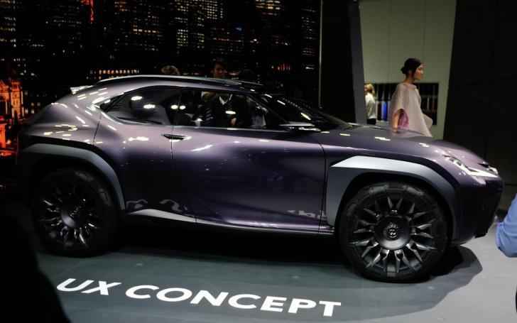 Lexus UX Concept/Vytauto Pilkausko nuotrauka