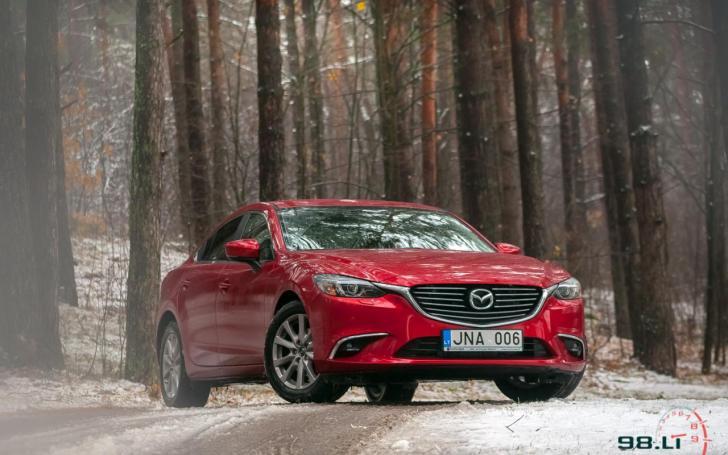 Mazda6 2017/Vytauto Pilkausko nuotrauka