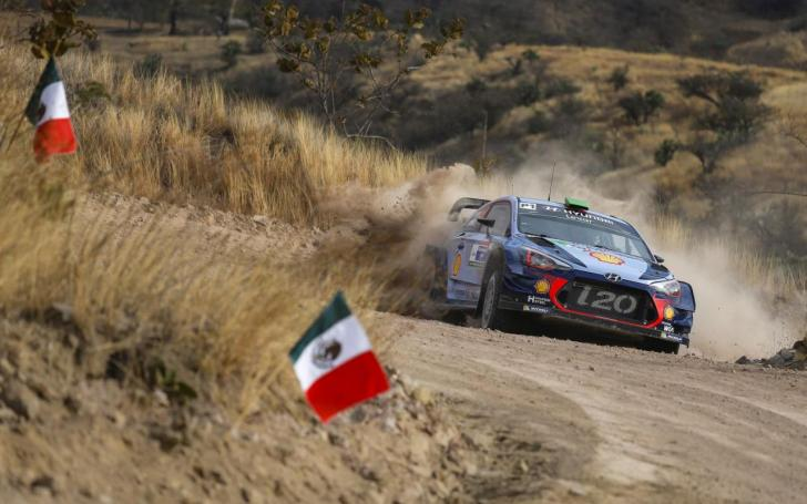 Meksikos ralis 2017/Hyundai Motorsport nuotrauka