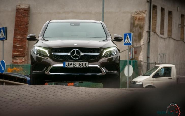 Mercedes-Benz GLC Coupe/Vytauto Pilkausko nuotrauka