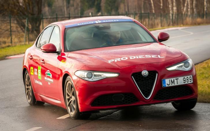 Alfa Romeo Giulia/Vytauto Pilkausko nuotrauka
