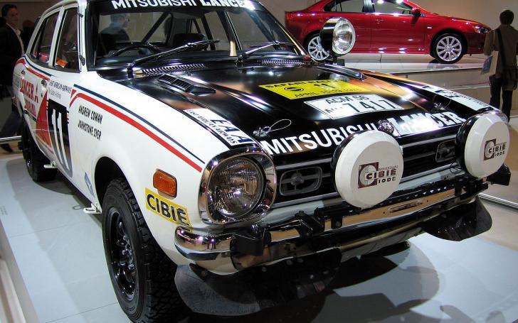 1976 Mitsubishi Lancer 1600 GSR