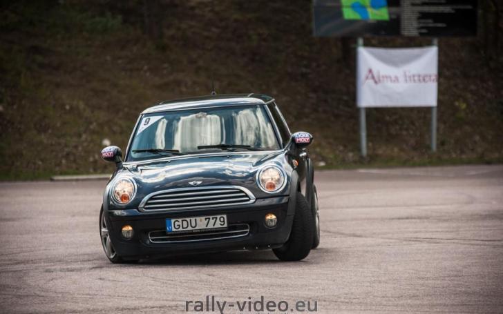 Moterų slalomas/Justo Lengvino - rally-video.eu nuotrauka