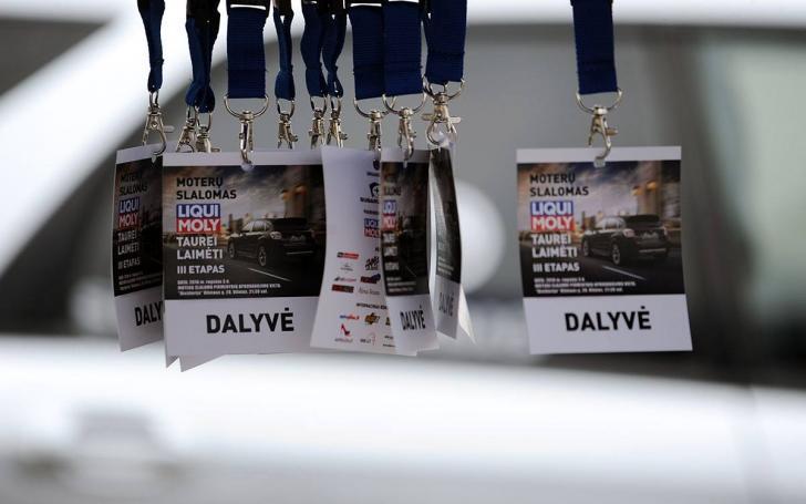 Moterų slalomas/fotovaldas.com nuotrauka