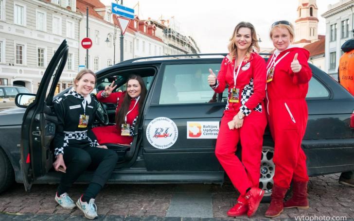 Moterų ralis 2017/Vytauto Pilkausko nuotrauka